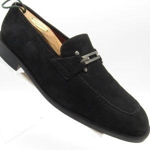 Brass Boot Size 10.5 Suede Handmade Loafer  B7 A4